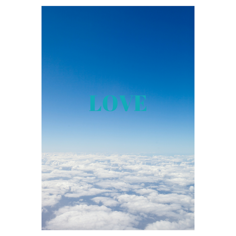 Love is like the Steady Blue Sky…